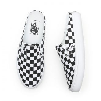 CHECKERBOARD CLASSIC SLIP-ON MULE SHOES Hover