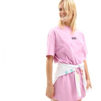 CENTER VEE TEE DRESS Hover