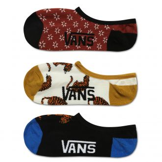 Tiger Floral Canoodles Socks (36.5-41 , 3 pairs)