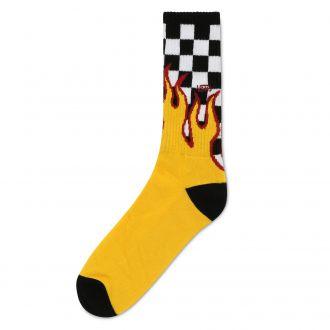 Flame Check Crew Socks(42.5-47)