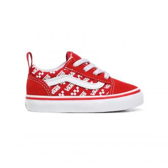 Toddler Logo Repeat Elastic Lace Old Skool Shoes (1-4 years)