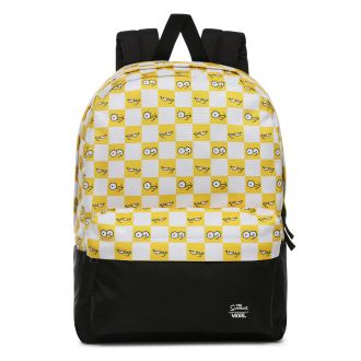 Vans X The Simpsons Check Eyes Backpack