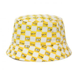 Vans X The Simpsons Check Eyes Bucket Hat Hover