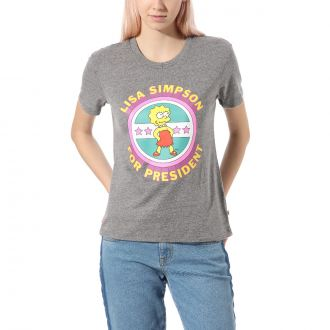 Vans X The Simpsons Lisa 4 Prez Tee Hover