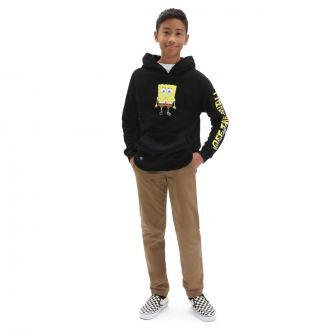 Boys Vans X Spongebob Happy Face Pullover Hoodie (8-14 years)