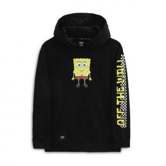 Boys Vans X Spongebob Happy Face Pullover Hoodie (8-14 years) Hover