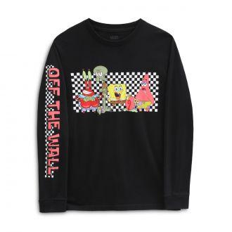 Boys Vans X Spongebob Characters Long Sleeve T-Shirt  (8-14 years) Hover