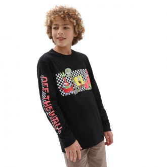 Boys Vans X Spongebob Characters Long Sleeve T-Shirt  (8-14 years)