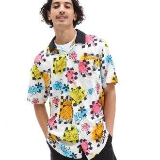 Vans X Spongebob Airbrush Buttondown Shirt
