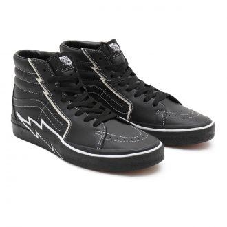 UA SK8-Hi Bolt Black/Black