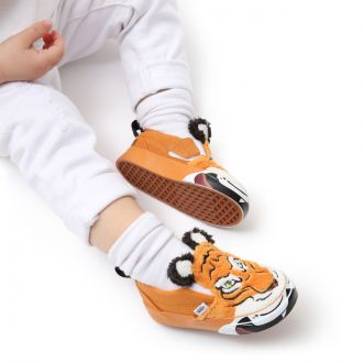 TODDLER VANS X PROJECT CAT WILD TIGER SLIP-ON VELCRO SHOES (1-4 YEARS) Hover