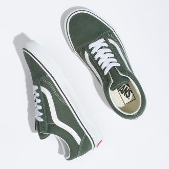 UA Old Skool THYME/TRUE WHIT Hover